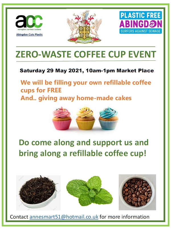 Zero-Waste Coffee Cup Event @ Abingdon Market Place