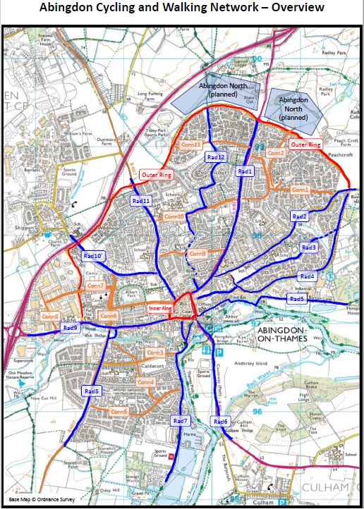 Abingdon Cycling and Walking Network