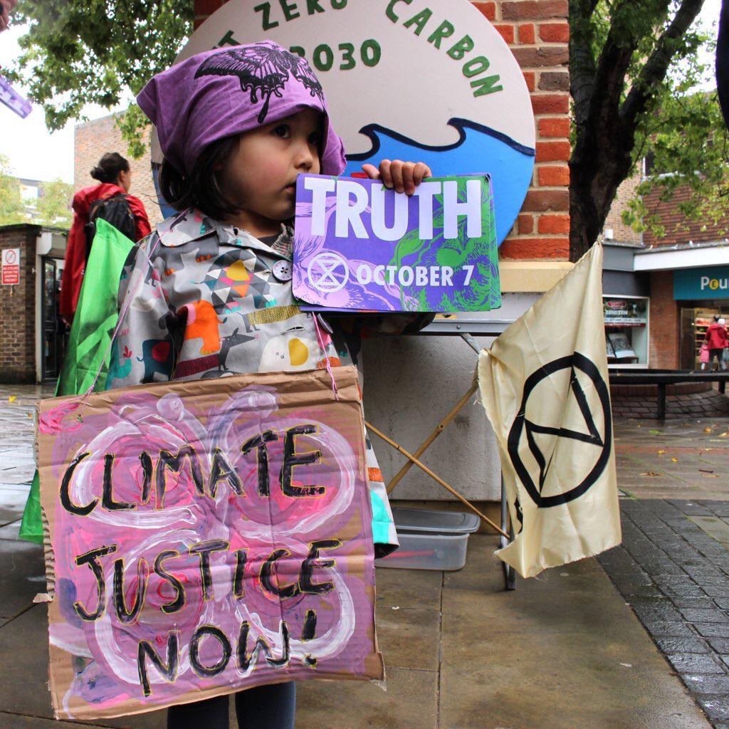 Fighting the climate emergency